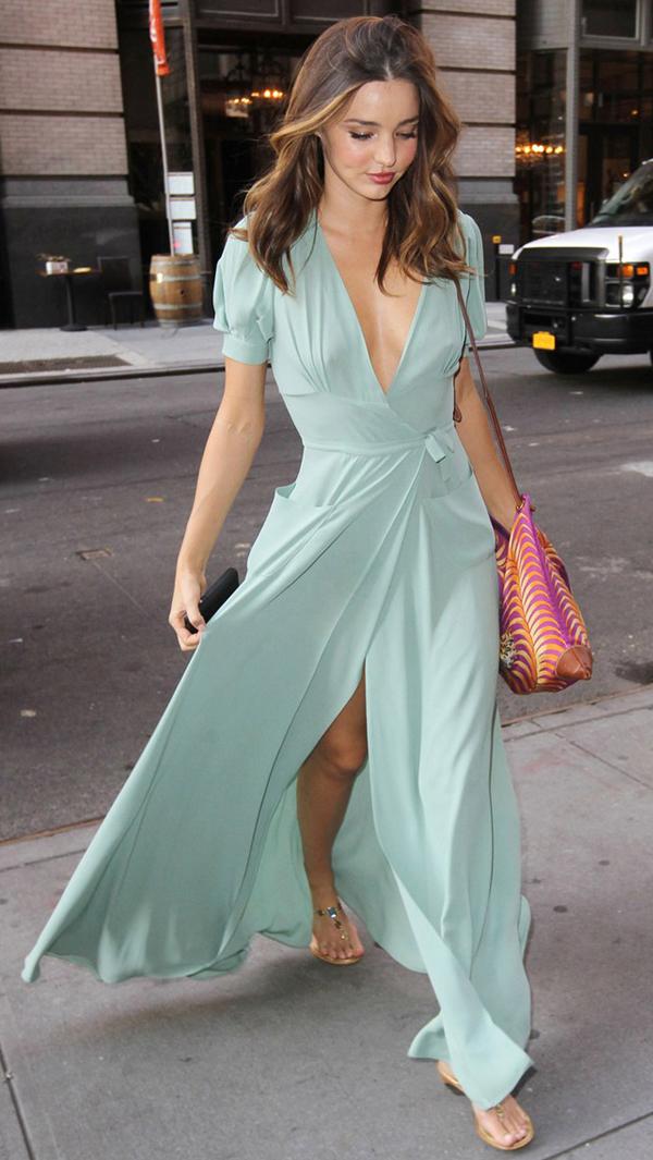 Street Style Flats Sandals Miranda Kerr Le Capresi
